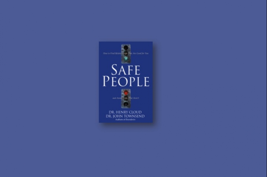 The Safe People cover.